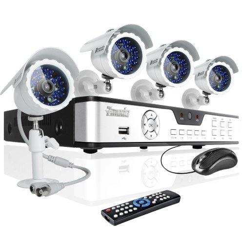 Zmodo 4ch Home Security Dvr Cctv Surveillance Camera