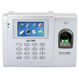 Fingertec Complete Color Biometric Time Attendance Technique for 3000 Fingerprints - Fingertec AC-100C