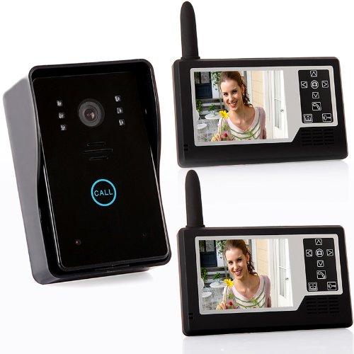 """2.4G 3.5"""" TFT Wireless Video Door Phone Intercom Doorbell ..."""