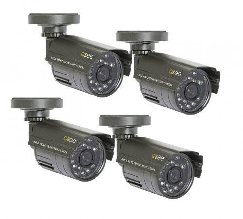 Q See Qm4803b 4 Surveillance System Gray Home Security