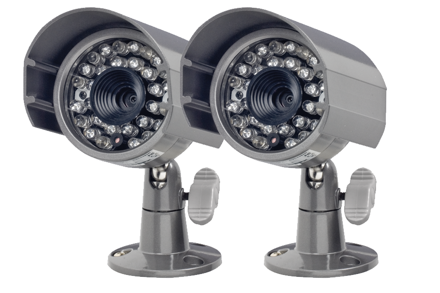 Outdoor security cameras with night vision at lorex