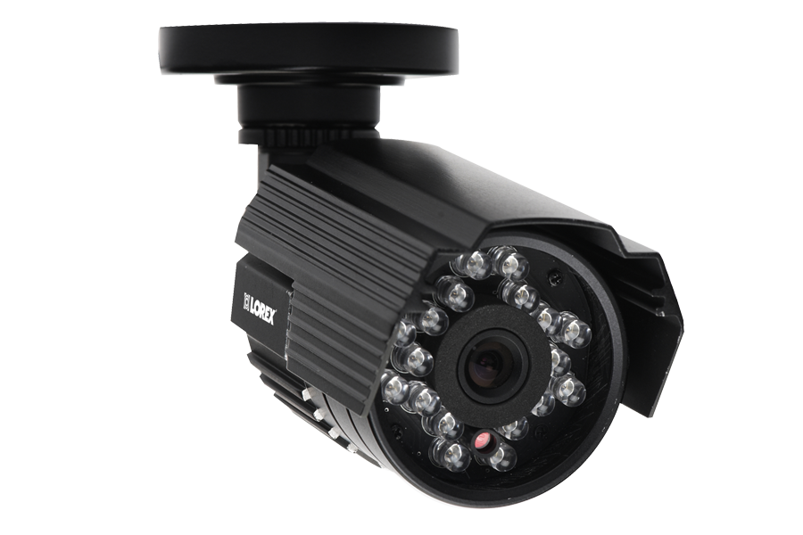 Super resolution security camera with audio at lorex