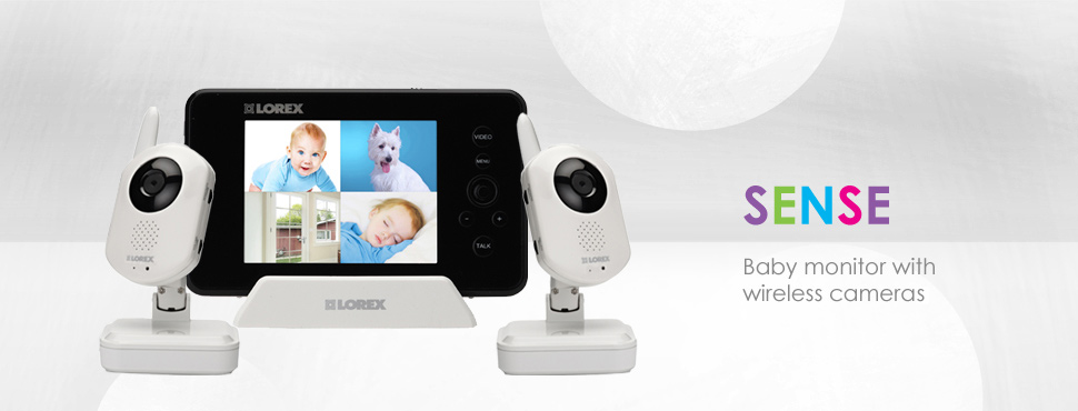 Wireless-baby-monitor-with-2-cameras in lorex