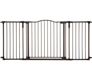extra-wide opening child safety gate