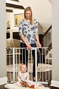 Regalo Easy Step wide Walk Thru baby Gate